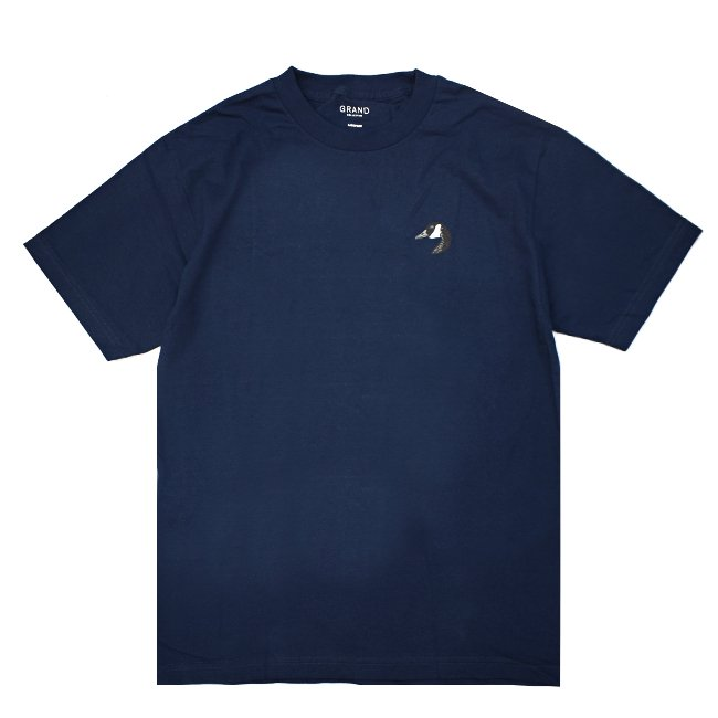 <img class='new_mark_img1' src='//img.shop-pro.jp/img/new/icons5.gif' style='border:none;display:inline;margin:0px;padding:0px;width:auto;' />GRAND COLLECTION GOOSE TEE / NAVY (グランドコレクション Tシャツ / 半袖)