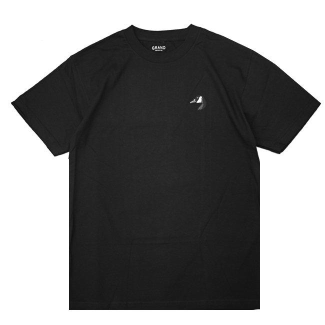 <img class='new_mark_img1' src='//img.shop-pro.jp/img/new/icons5.gif' style='border:none;display:inline;margin:0px;padding:0px;width:auto;' />GRAND COLLECTION GOOSE TEE / BLACK (グランドコレクション Tシャツ / 半袖)