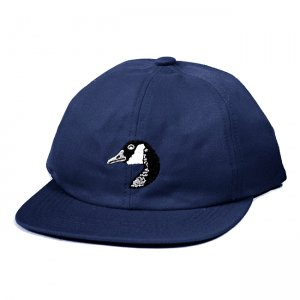 <img class='new_mark_img1' src='https://img.shop-pro.jp/img/new/icons5.gif' style='border:none;display:inline;margin:0px;padding:0px;width:auto;' />GRAND COLLECTION GOOSE EMBROIDERED CAP / NAVY (グランドコレクション ボールキャップ)