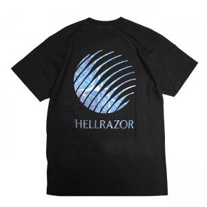 <img class='new_mark_img1' src='//img.shop-pro.jp/img/new/icons5.gif' style='border:none;display:inline;margin:0px;padding:0px;width:auto;' />HELLRAZOR Inferno Logo Shirt / BLACK (ヘルレイザー Tシャツ)
