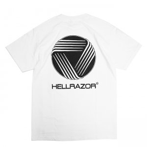<img class='new_mark_img1' src='//img.shop-pro.jp/img/new/icons5.gif' style='border:none;display:inline;margin:0px;padding:0px;width:auto;' />HELLRAZOR WCC Shirt / WHITE (ヘルレイザー Tシャツ)