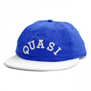 <img class='new_mark_img1' src='//img.shop-pro.jp/img/new/icons5.gif' style='border:none;display:inline;margin:0px;padding:0px;width:auto;' />QUASI MAYO 6 PANEL POLO UNSTRUCTURED SNAPBACK CAP / ROYAL × WHITE (クアジ キャップ/帽子)
