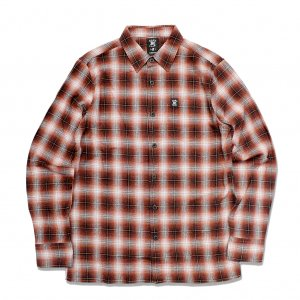 <img class='new_mark_img1' src='//img.shop-pro.jp/img/new/icons5.gif' style='border:none;display:inline;margin:0px;padding:0px;width:auto;' />HARDLUCK PALO L/S FLANNEL SHIRT / RUST (ハードラック 長袖ネルシャツ)
