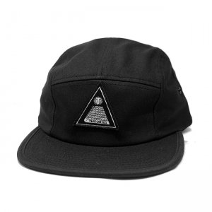 <img class='new_mark_img1' src='https://img.shop-pro.jp/img/new/icons54.gif' style='border:none;display:inline;margin:0px;padding:0px;width:auto;' />THEORIES THEORAMID CAMP CAP / BLACK (セオリーズ ジェットキャップ/キャンプキャップ)
