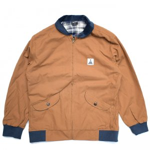<img class='new_mark_img1' src='//img.shop-pro.jp/img/new/icons54.gif' style='border:none;display:inline;margin:0px;padding:0px;width:auto;' />THEORIES THEORAMID UTILITY JACKET BROWN/NAVY (セオリーズ ジャケット)