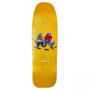 <img class='new_mark_img1' src='https://img.shop-pro.jp/img/new/icons5.gif' style='border:none;display:inline;margin:0px;padding:0px;width:auto;' />ALLTIMERS YELLOW FOSSIL GANG CRUISER BOARD / 9.25