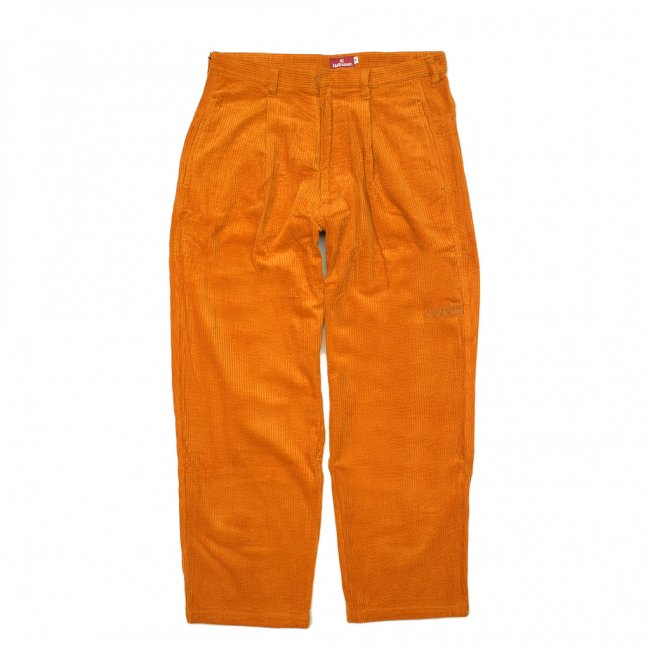 <img class='new_mark_img1' src='//img.shop-pro.jp/img/new/icons5.gif' style='border:none;display:inline;margin:0px;padding:0px;width:auto;' />HELLRAZOR UNDERGROUND FORCES CORDUROY PANTS / YELLOW (ヘルレイザー コーデュロイパンツ)