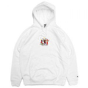 <img class='new_mark_img1' src='//img.shop-pro.jp/img/new/icons5.gif' style='border:none;display:inline;margin:0px;padding:0px;width:auto;' />SAYHELLO S.H.T HOODIE / WHITE (セイハロー パーカー/スウェット)