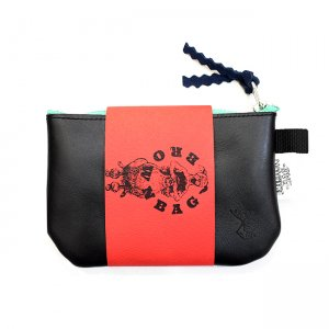 <img class='new_mark_img1' src='https://img.shop-pro.jp/img/new/icons5.gif' style='border:none;display:inline;margin:0px;padding:0px;width:auto;' />BROWNBAG Leather pouch / BLACK (ブラウンバッグ レザーポーチ)