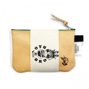 <img class='new_mark_img1' src='https://img.shop-pro.jp/img/new/icons5.gif' style='border:none;display:inline;margin:0px;padding:0px;width:auto;' />BROWNBAG Leather pouch / NATURAL (ブラウンバッグ レザーポーチ)