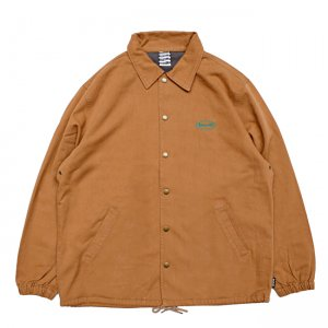 <img class='new_mark_img1' src='//img.shop-pro.jp/img/new/icons5.gif' style='border:none;display:inline;margin:0px;padding:0px;width:auto;' />SAYHELLO CASH LOGO WASHED COTTON COACH JACKET / COFFEE (セイハロー コーチジャケット)