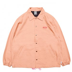 <img class='new_mark_img1' src='https://img.shop-pro.jp/img/new/icons5.gif' style='border:none;display:inline;margin:0px;padding:0px;width:auto;' />SAYHELLO CASH LOGO WASHED COTTON COACH JACKET / PEACH (セイハロー コーチジャケット)