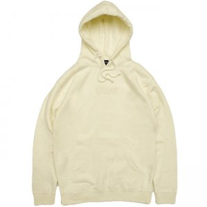 <img class='new_mark_img1' src='//img.shop-pro.jp/img/new/icons5.gif' style='border:none;display:inline;margin:0px;padding:0px;width:auto;' />GRAND TONAL EMBROIDERED HOODIE / CREAM (グランドコレクション スウェット/パーカー)