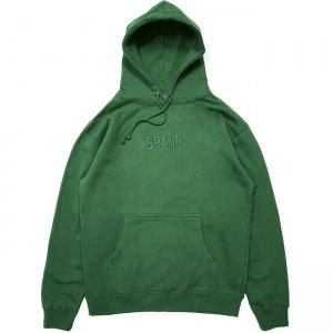 <img class='new_mark_img1' src='//img.shop-pro.jp/img/new/icons5.gif' style='border:none;display:inline;margin:0px;padding:0px;width:auto;' />GRAND TONAL EMBROIDERED HOODIE / FOREST (グランドコレクション スウェット/パーカー)
