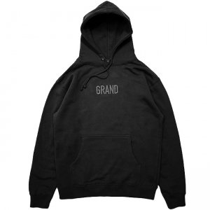 <img class='new_mark_img1' src='https://img.shop-pro.jp/img/new/icons5.gif' style='border:none;display:inline;margin:0px;padding:0px;width:auto;' />GRAND COLLECTION TONAL EMBROIDERED HOODIE / BLACK (グランドコレクション スウェット/パーカー)