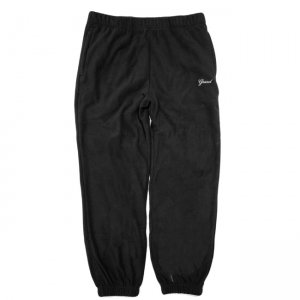 <img class='new_mark_img1' src='//img.shop-pro.jp/img/new/icons5.gif' style='border:none;display:inline;margin:0px;padding:0px;width:auto;' />GRAND COLLECTION MICRO FLEECE PANT / BLACK (グランドコレクション フリースパンツ)