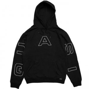 <img class='new_mark_img1' src='https://img.shop-pro.jp/img/new/icons5.gif' style='border:none;display:inline;margin:0px;padding:0px;width:auto;' />QUASI PACE HOODIE / BLACK (クアジ パーカー フーディー)