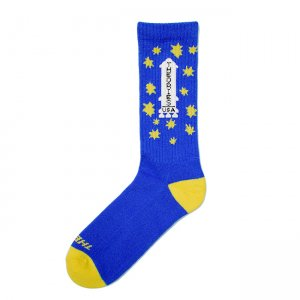 <img class='new_mark_img1' src='//img.shop-pro.jp/img/new/icons5.gif' style='border:none;display:inline;margin:0px;padding:0px;width:auto;' />THEORIES APOLLO CREW SOCKS / ROYAL(セオリーズ  ソックス/靴下)