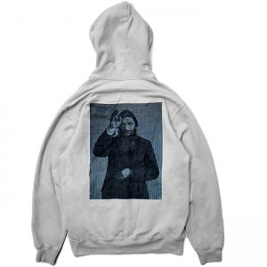 <img class='new_mark_img1' src='//img.shop-pro.jp/img/new/icons5.gif' style='border:none;display:inline;margin:0px;padding:0px;width:auto;' />THEORIES RASPUTIN PULLOVER HOODIE / SILVER(セオリーズ フーディー/パーカー)