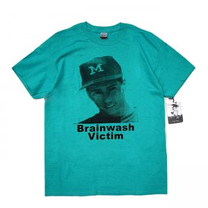 <img class='new_mark_img1' src='//img.shop-pro.jp/img/new/icons5.gif' style='border:none;display:inline;margin:0px;padding:0px;width:auto;' />DEAR, BRAINWASH VICTIM TEE / TEAL (ディアー/ Tシャツ)