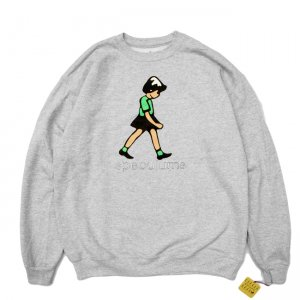 <img class='new_mark_img1' src='//img.shop-pro.jp/img/new/icons5.gif' style='border:none;display:inline;margin:0px;padding:0px;width:auto;' />DEAR, SPECULUMS CREWNECK SWEAT / HEATHER GREY (ディアー/ クルーネックスウェット)