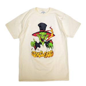 <img class='new_mark_img1' src='//img.shop-pro.jp/img/new/icons5.gif' style='border:none;display:inline;margin:0px;padding:0px;width:auto;' />GX1000 PUPPET MASTER TEE / CREME (ジーエックスセン Tシャツ / 半袖)