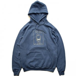 <img class='new_mark_img1' src='//img.shop-pro.jp/img/new/icons5.gif' style='border:none;display:inline;margin:0px;padding:0px;width:auto;' />THEORIES PROBLEMATIC DISCONNECTION HOODIE / STEEL BLUE (セオリーズ フーディー/スウェット)