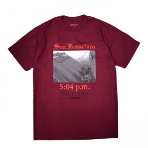 <img class='new_mark_img1' src='//img.shop-pro.jp/img/new/icons5.gif' style='border:none;display:inline;margin:0px;padding:0px;width:auto;' />GX1000 WORLD SERIES TEE / BURGUNDY (ジーエックスセン Tシャツ / 半袖)
