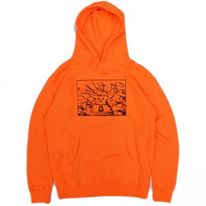 <img class='new_mark_img1' src='//img.shop-pro.jp/img/new/icons5.gif' style='border:none;display:inline;margin:0px;padding:0px;width:auto;' />GX1000 FREE ACID HOODIE / SAFETY ORANGE (ジーエックスセン パーカー / スウェット)