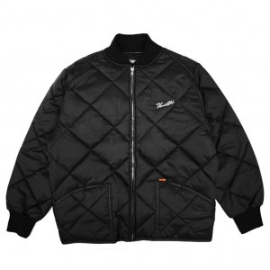 <img class='new_mark_img1' src='//img.shop-pro.jp/img/new/icons5.gif' style='border:none;display:inline;margin:0px;padding:0px;width:auto;' />HORRIBLE'S SIGNATURE QUILTED JACKET / BLACK (ホリブルズ キルティングジャケット)