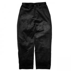 <img class='new_mark_img1' src='https://img.shop-pro.jp/img/new/icons5.gif' style='border:none;display:inline;margin:0px;padding:0px;width:auto;' />SAYHELLO WORK CORDUROY PANTS WIDE-FIT / BLACK (セイハロー ワークコーデュロイパンツ)
