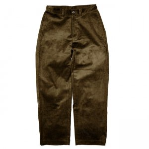 <img class='new_mark_img1' src='https://img.shop-pro.jp/img/new/icons5.gif' style='border:none;display:inline;margin:0px;padding:0px;width:auto;' />SAYHELLO WORK CORDUROY PANTS WIDE-FIT / BROWN (セイハロー ワークコーデュロイパンツ)