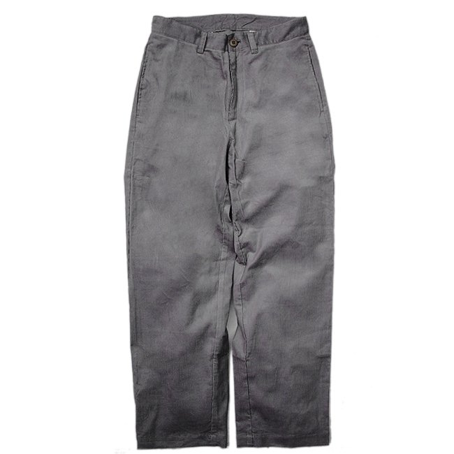 <img class='new_mark_img1' src='//img.shop-pro.jp/img/new/icons5.gif' style='border:none;display:inline;margin:0px;padding:0px;width:auto;' />SAYHELLO WORK CORDUROY PANTS WIDE-FIT / CHARCOAL (セイハロー ワークコーデュロイパンツ)