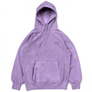 <img class='new_mark_img1' src='//img.shop-pro.jp/img/new/icons5.gif' style='border:none;display:inline;margin:0px;padding:0px;width:auto;' />SAYHELLO CASH LOGO EMBROIDERY HEAVY HOODIE / LAVENDER (セイハロー パーカー/スウェット)