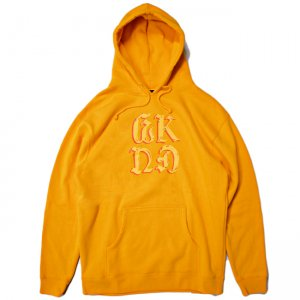 <img class='new_mark_img1' src='//img.shop-pro.jp/img/new/icons5.gif' style='border:none;display:inline;margin:0px;padding:0px;width:auto;' />WKND CHROME ON HOODIE / GOLD (ウィークエンド フーディ/スウェットパーカー)