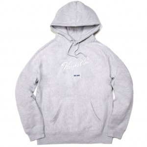 <img class='new_mark_img1' src='//img.shop-pro.jp/img/new/icons5.gif' style='border:none;display:inline;margin:0px;padding:0px;width:auto;' />HORRIBLE'S SIGNATURE PREMIUM HOODED SWEAT SHIRT / HEATHER GREY (ホリブルズ パーカー スウェット)