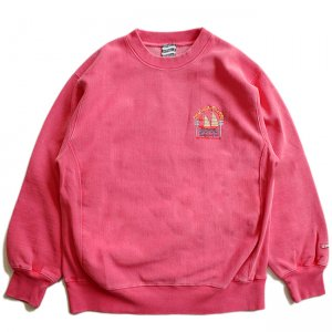 <img class='new_mark_img1' src='//img.shop-pro.jp/img/new/icons5.gif' style='border:none;display:inline;margin:0px;padding:0px;width:auto;' />SAYHELLO PACIFIC EMBROIDERY PIGMENT DYED HEAVY CREW SWEAT / DARK RED (セイハロー クルーネック/スウェット)