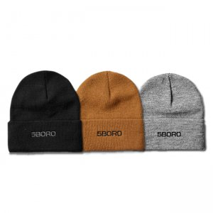 <img class='new_mark_img1' src='//img.shop-pro.jp/img/new/icons5.gif' style='border:none;display:inline;margin:0px;padding:0px;width:auto;' />5BORO NY MONOGRAM BEANIE (ファイブボロ ビーニー/ニットキャップ)
