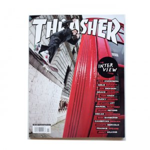 <img class='new_mark_img1' src='//img.shop-pro.jp/img/new/icons5.gif' style='border:none;display:inline;margin:0px;padding:0px;width:auto;' />THRASHER February 2020 #475(スラッシャー マガジン/雑誌)