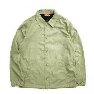 <img class='new_mark_img1' src='//img.shop-pro.jp/img/new/icons5.gif' style='border:none;display:inline;margin:0px;padding:0px;width:auto;' />HELLRAZOR TRADEMARK RIPSTOP COACH JACKET / OLIVE (ヘルレイザー コーチジャケット)