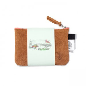 <img class='new_mark_img1' src='https://img.shop-pro.jp/img/new/icons5.gif' style='border:none;display:inline;margin:0px;padding:0px;width:auto;' />BROWNBAG Leather pouch / BROWN × PINK (ブラウンバッグ レザーポーチ)