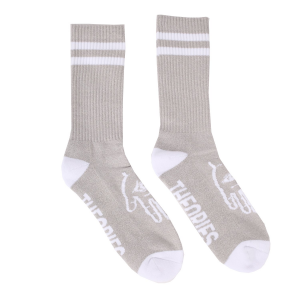 <img class='new_mark_img1' src='//img.shop-pro.jp/img/new/icons5.gif' style='border:none;display:inline;margin:0px;padding:0px;width:auto;' />THEORIES MYSTIC ADVISOR CREW SOCKS / HEATHER GREY(セオリーズ  ソックス/靴下)