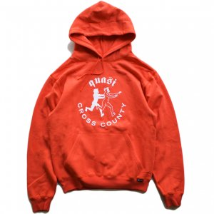 <img class='new_mark_img1' src='https://img.shop-pro.jp/img/new/icons5.gif' style='border:none;display:inline;margin:0px;padding:0px;width:auto;' />QUASI COUNTY HOOD SWEAT / RED (クアジ パーカー フーディー)