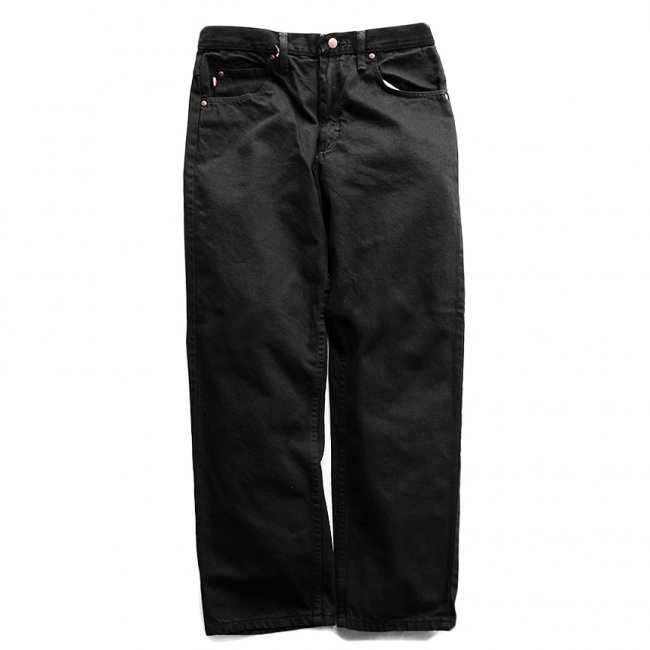 <img class='new_mark_img1' src='https://img.shop-pro.jp/img/new/icons55.gif' style='border:none;display:inline;margin:0px;padding:0px;width:auto;' />REDKAP RELAXED FIT JEAN / BLACK (レッドキャップデニムパンツ)