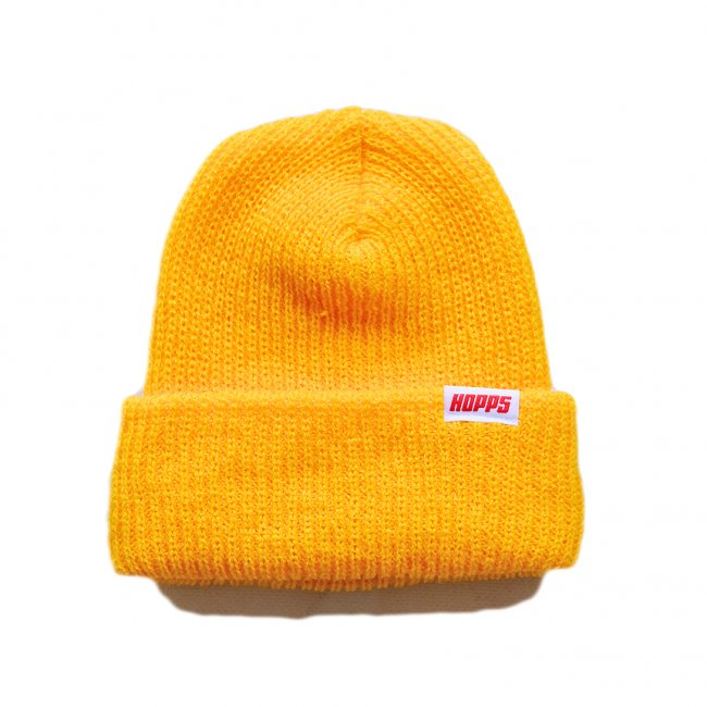 <img class='new_mark_img1' src='https://img.shop-pro.jp/img/new/icons5.gif' style='border:none;display:inline;margin:0px;padding:0px;width:auto;' />HOPPS TAG BEANIE / GOLD (ホップス ビーニーキャップ)