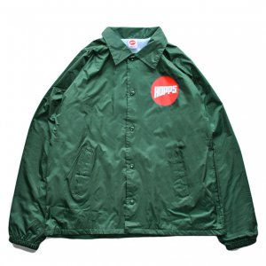 <img class='new_mark_img1' src='//img.shop-pro.jp/img/new/icons5.gif' style='border:none;display:inline;margin:0px;padding:0px;width:auto;' />HOPPS SUN LOGO COACH JACKET / HUNTER GREEN (ホップス コーチジャケット)