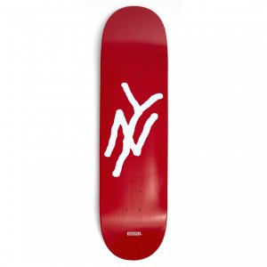<img class='new_mark_img1' src='https://img.shop-pro.jp/img/new/icons5.gif' style='border:none;display:inline;margin:0px;padding:0px;width:auto;' />5BORO NY MONOGRAM DECK RED / 8.25 X 32