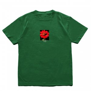 <img class='new_mark_img1' src='https://img.shop-pro.jp/img/new/icons5.gif' style='border:none;display:inline;margin:0px;padding:0px;width:auto;' />5BORO FLOWER SEED 2020 TEE / FOREST GREEN (ファイブボロ/Tシャツ)