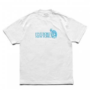 <img class='new_mark_img1' src='https://img.shop-pro.jp/img/new/icons5.gif' style='border:none;display:inline;margin:0px;padding:0px;width:auto;' />5BORO STILL STANDING TEE / WHITE (ファイブボロ/Tシャツ)