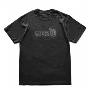 <img class='new_mark_img1' src='https://img.shop-pro.jp/img/new/icons5.gif' style='border:none;display:inline;margin:0px;padding:0px;width:auto;' />5BORO STILL STANDING TEE / BLACK (ファイブボロ/Tシャツ)